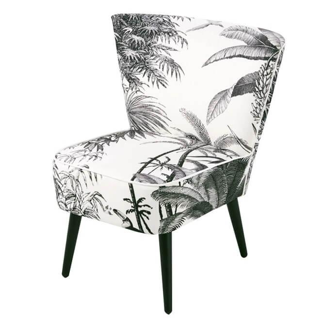 Décoration jungle fauteuil