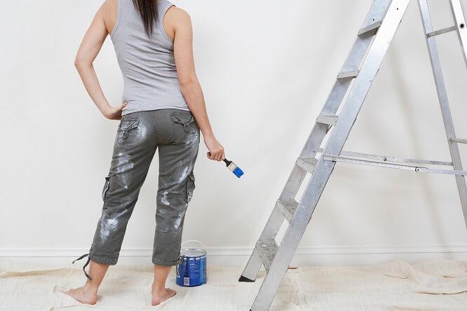 peindre précautions