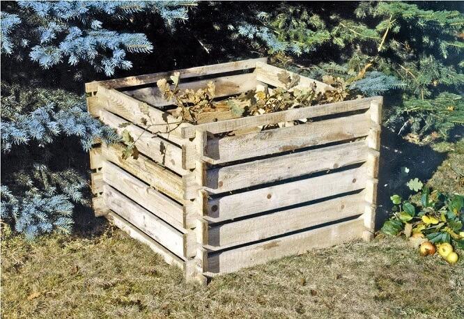 Composteur de jardin Tiktaktoo
